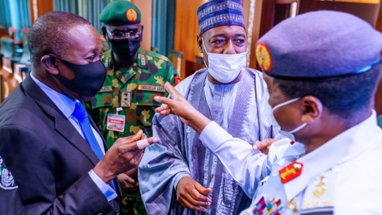 INSECURITY: Buhari blames lean resources and COVID-19