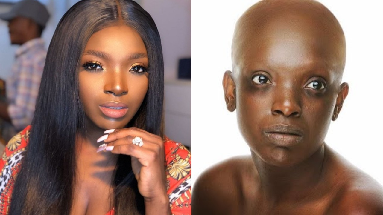 Annie Idibia reacts after rumours about her having cancer surfaces on the internet