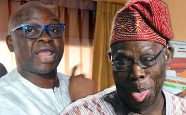 Ex-governor of Ekiti, Fayose reveals what he would do to Obasanjo if he becomes president