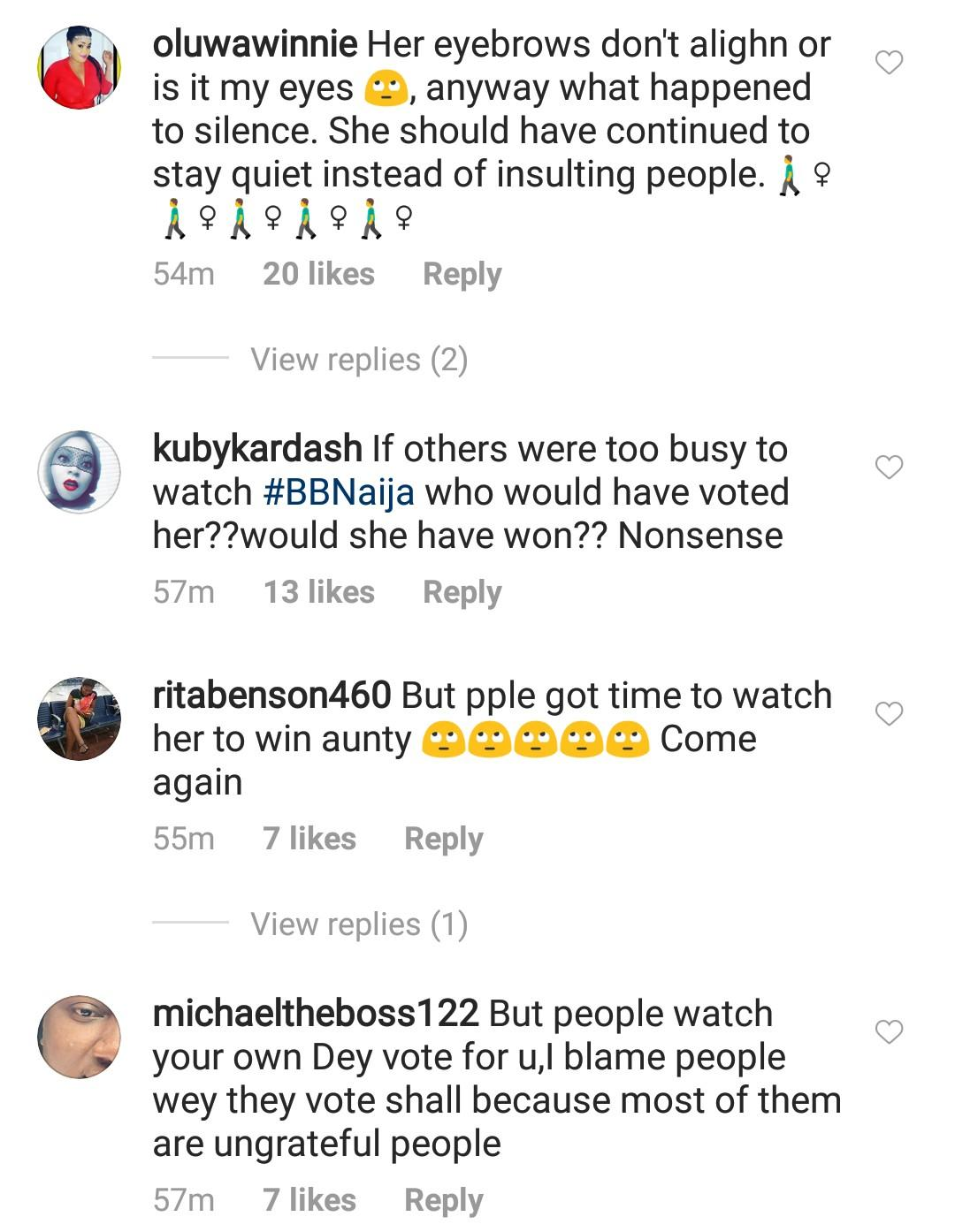 Mercy Eke receives backlash for saying she is too busy to watch #BBNaija Lockdown watch show