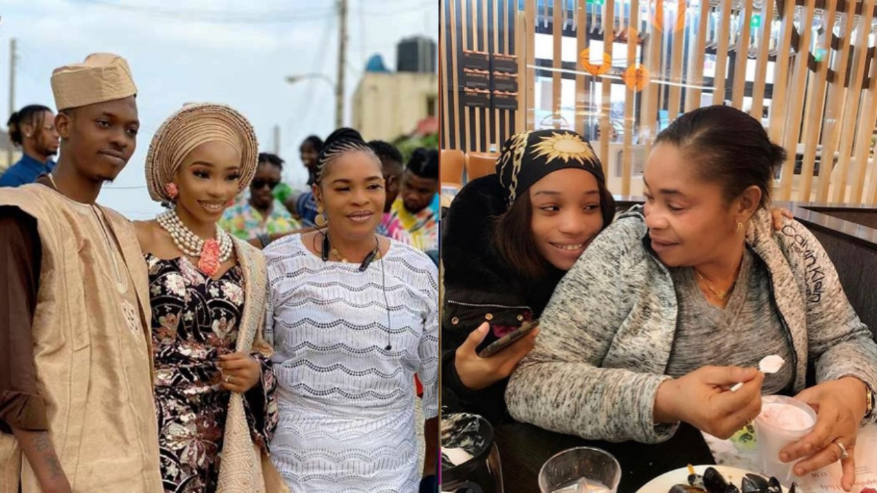 Video : Actress, Remi Surutu's daughter, Ajike receives huge surprise from lover after wedding Introduction