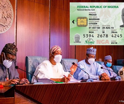 Identification: FG dumps plastic ID cards, goes fully digital
