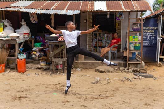 Nigerian 11-year-old ballet dancer given scholarship following viral video