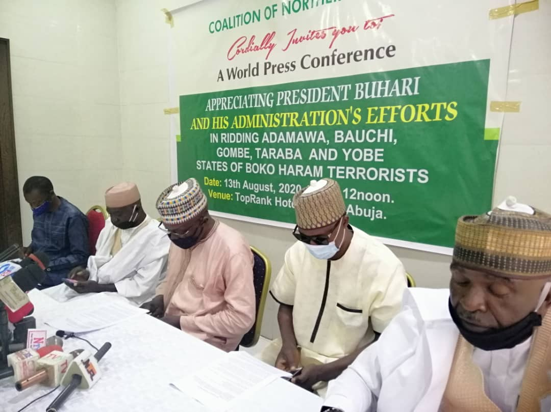 Northern patriots show appreciation to Buhari, say President has liberated 5 North-East States from terrorists