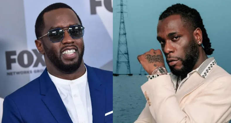 """Album of The Year"" - Diddy endorses Burnaboy's ""Twice As Tall """