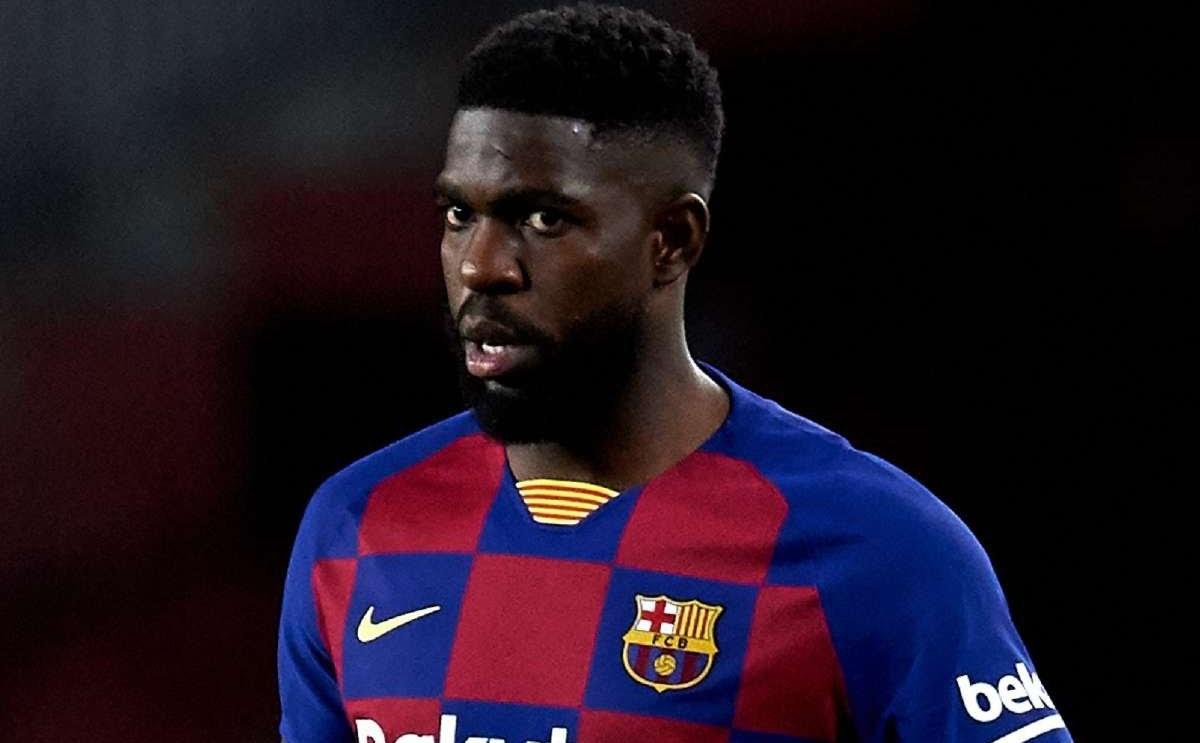 Barcelona defender, Umtiti tests positive for COVID-19