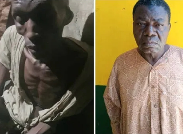 Police release photo of man who locked up his 30-year-old son for 7 years (photos)