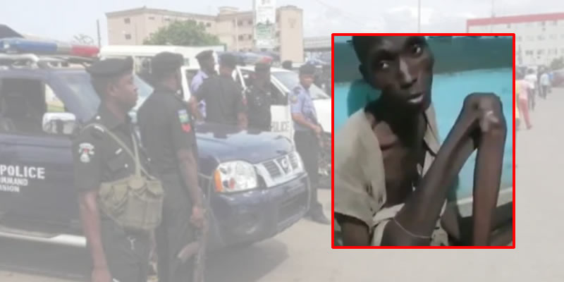 Police rescue 32-year-old man locked up for 7 years in a room in Kano