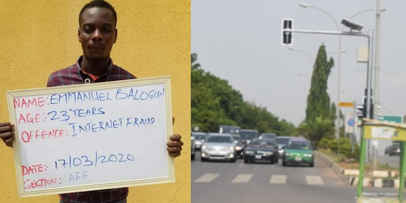 Court orders yahoo boy to control traffic in Ilorin for 3 months over fraud