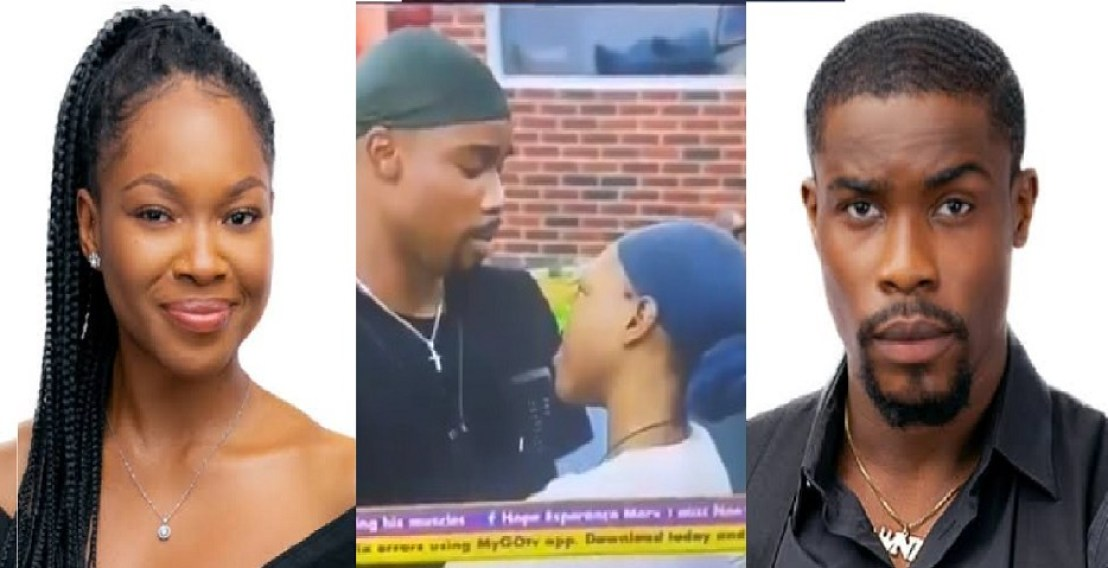 BBNaija: Love birds, Neo and Vee fight dirty over okro soup