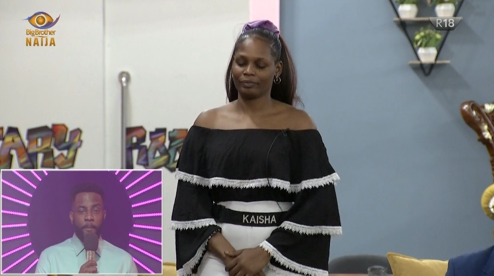 Kaisha evicted from the BBNAIJA house