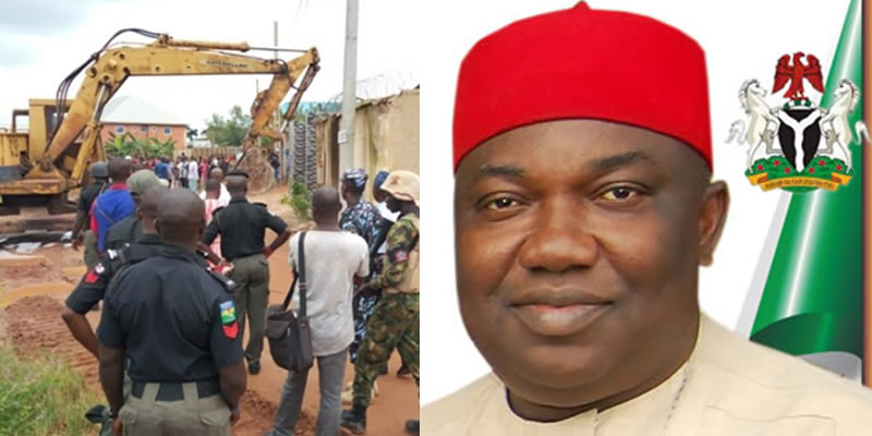 """This is an attack on Body of Christ"", Pastor laments as Enugu govt demolishes church, equipment worth N70m"