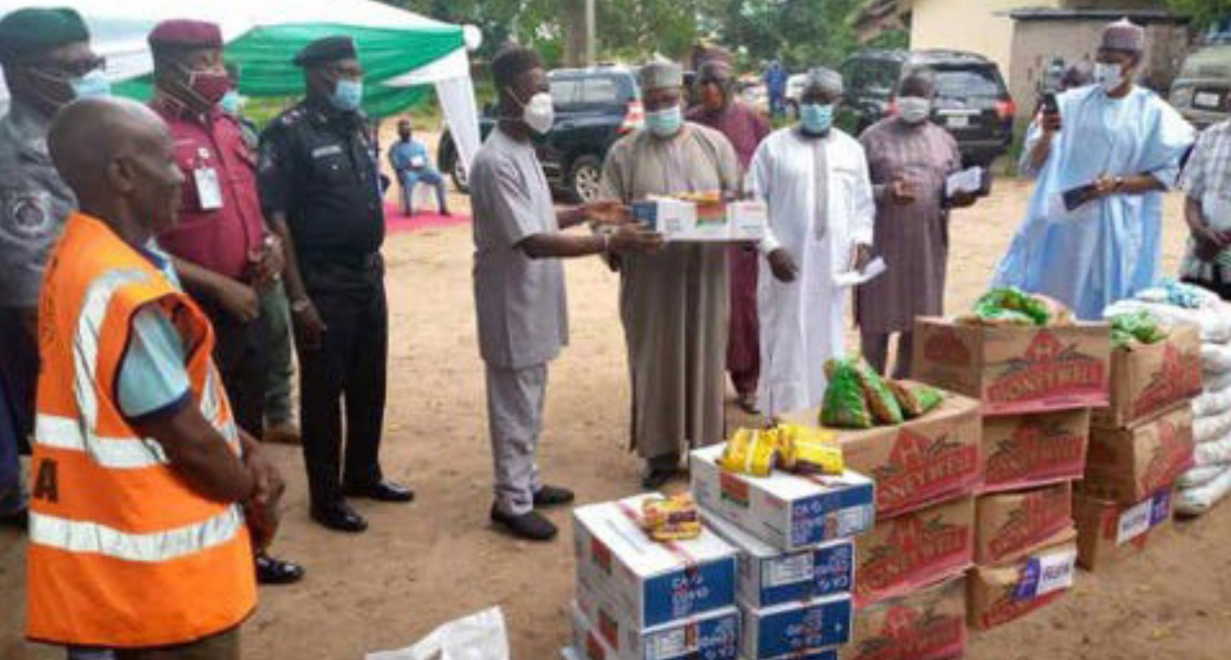 COVID-19: CACOVID donates food items to 26,000 households in Taraba
