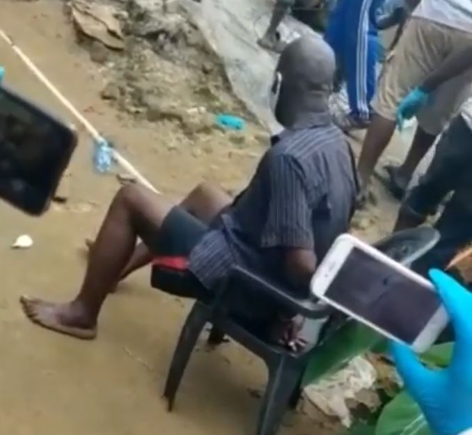 Video: Man arrested for killing anyone he invites to his house and throwing their bodies inside soak away