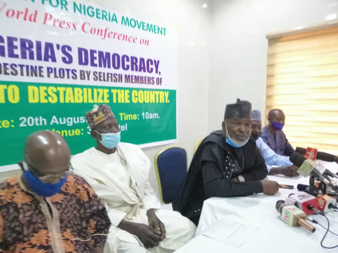 Mutiny: Coalition raises alarm, says enemies plan to use Senate to destabilise Buhari, Nigeria's democracy
