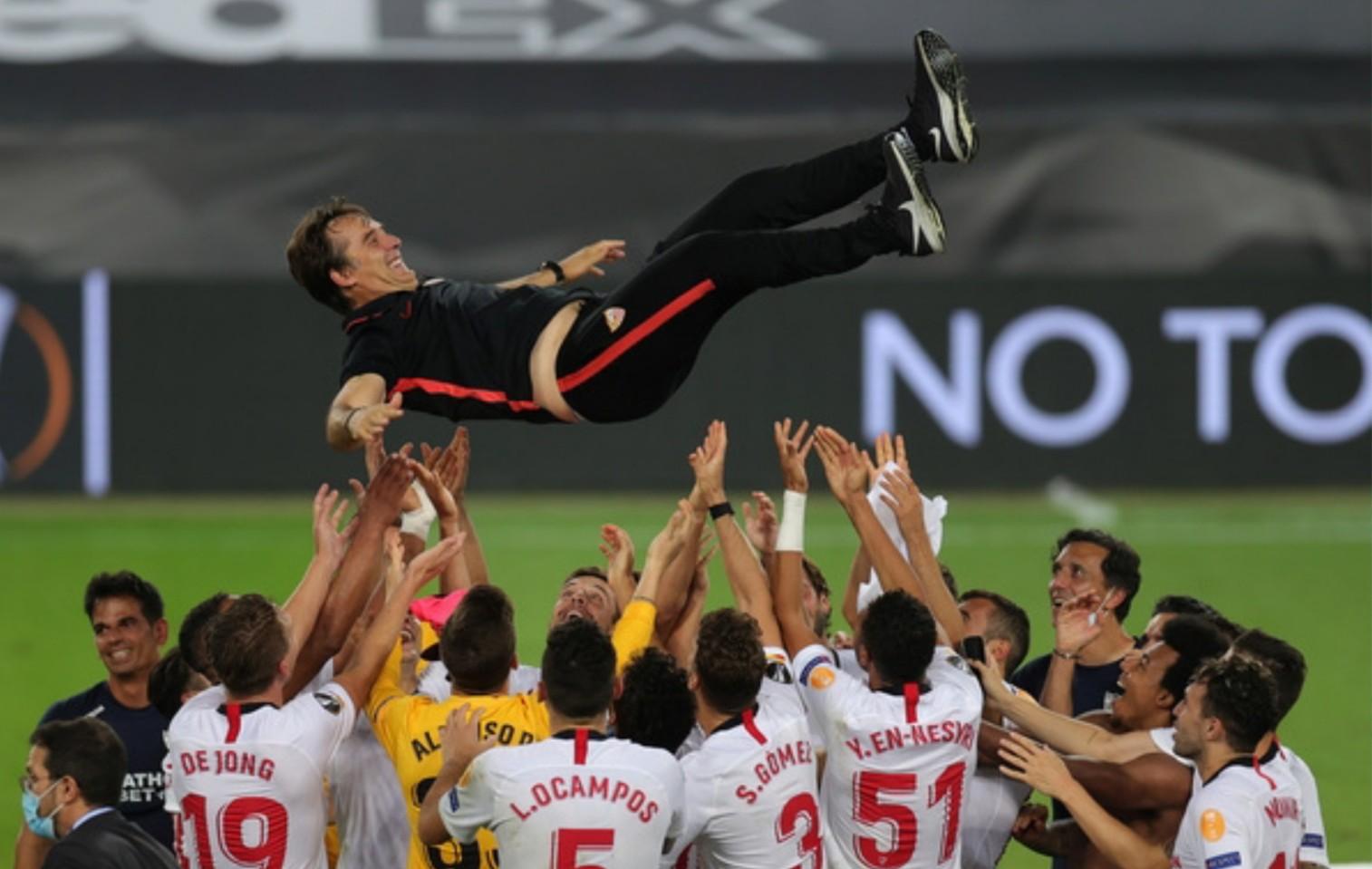 BREAKING: Sevilla beat Inter to clinch Europa League Trophy
