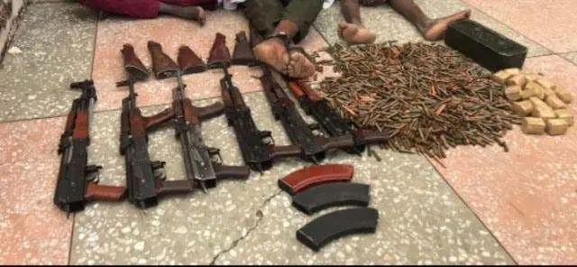 Soldiers arrest 3 foreign arms syndicate supplying weapons