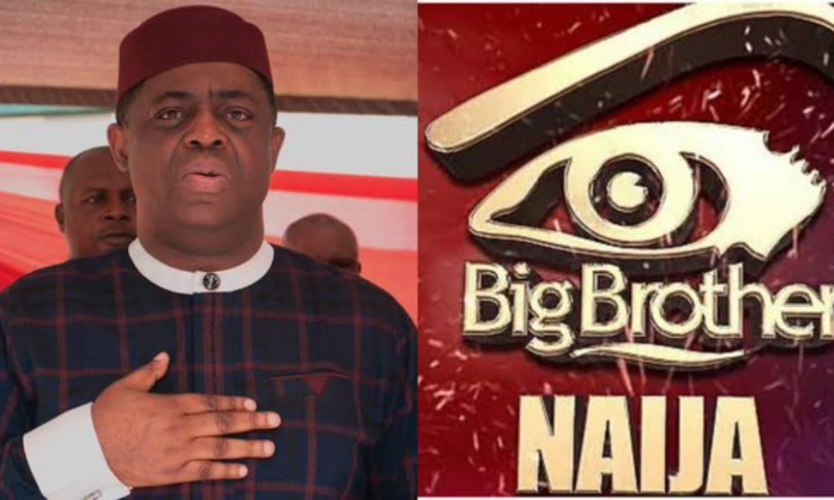 BBNaija: Femi Fani-Kayode Slams Nigerian Youths Who Are Less ...