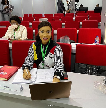 'Best decision i have ever made' - Tonto Dikeh says as she goes back to school