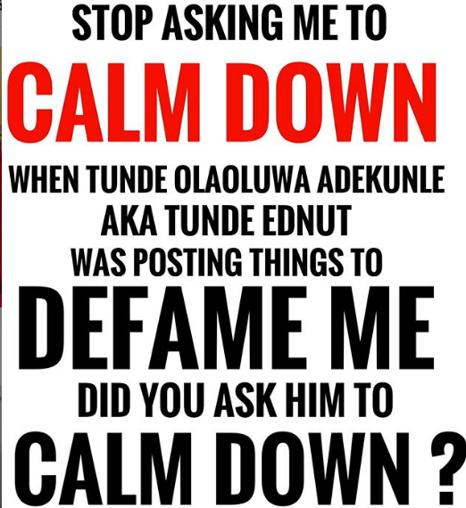 Joro Olumofin drags Tunde Ednut to court for 'trolling him'