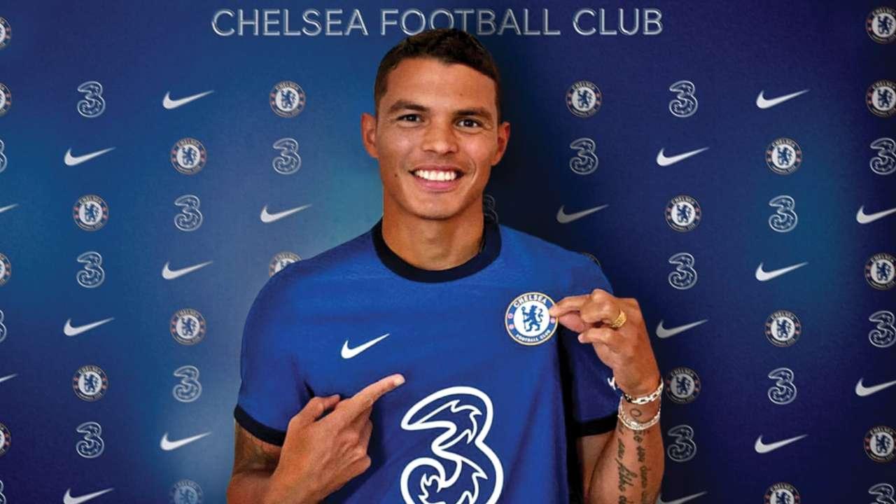 Chelsea sign PSG captain Thiago Silva