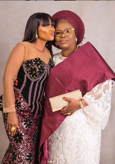Actress Iyabo Ojo sets social media on fire with 3 generational photos
