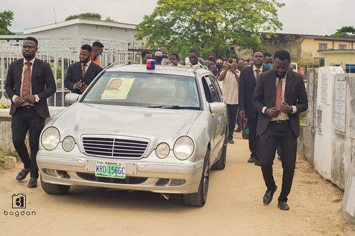 Photos from the funeral of music executive, Howie-T