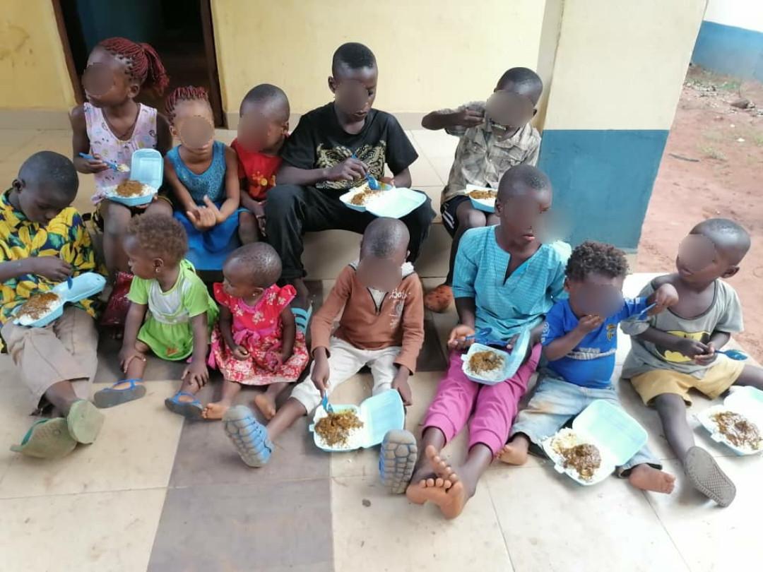 PHOTOS: Police arrest suspected child trafficker, rescue 12 children in Anambra