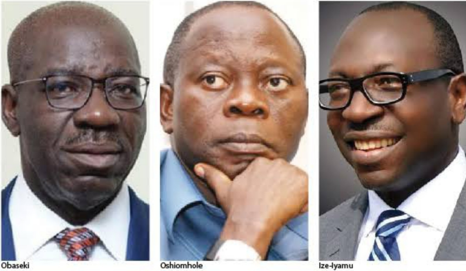 Edo governorship election: Obaseki, Ize-Iyamu, Oshiomhole, others in peace meeting