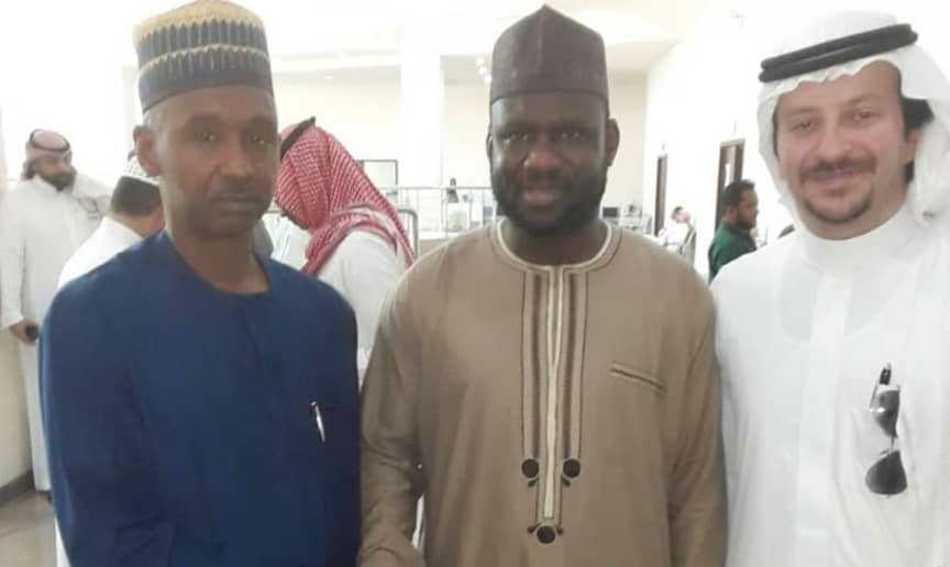 Jubilation in Zamfara as cleric who was detained in Saudi Arabia over drug-related offence arrives home