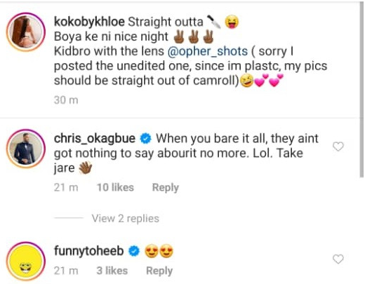 BBN's Khloe confirms she had butt surgery