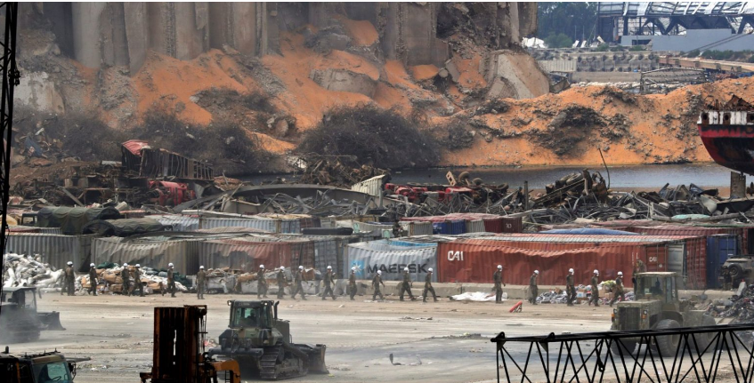 4 tonnes of ammonium nitrate found near the scene of Beirut blast
