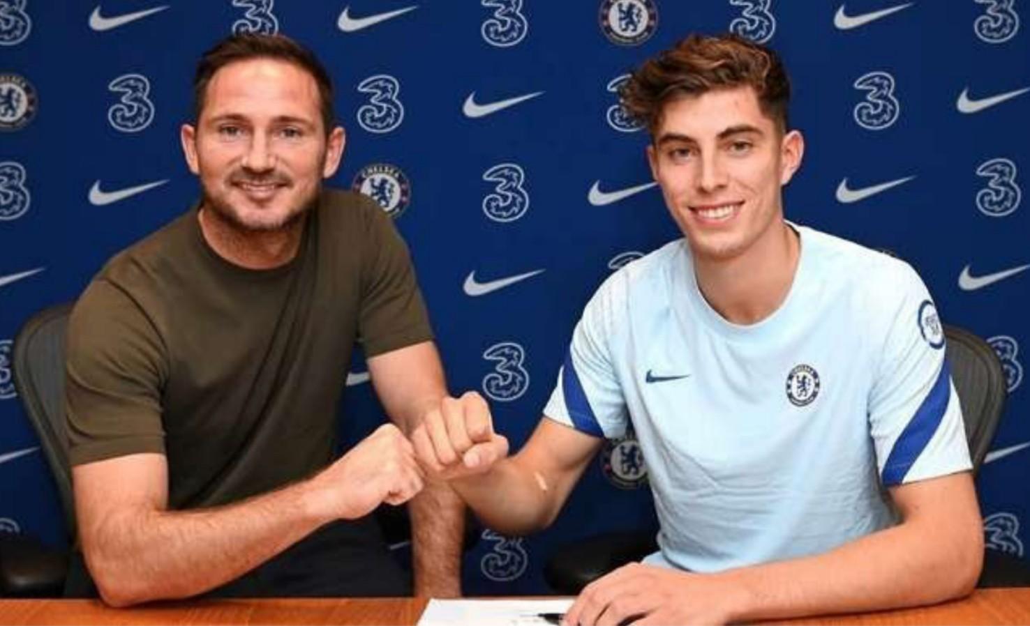Chelsea sign Kai Havertz from Bayer Leverkusen