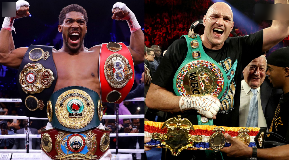 """I have achieved so much more than Tyson Fury"", Anthony Joshua brags"