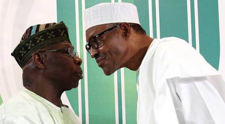 Only Buhari can look Obasanjo in the eye and survive it, says Adesina