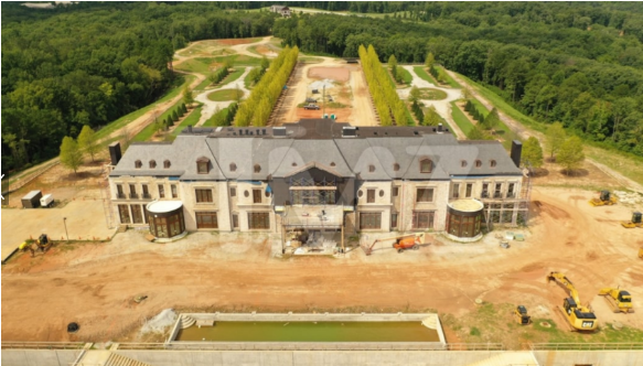 See photos of latest billionaire, Tyler Perry's new massive Estate that includes an airport
