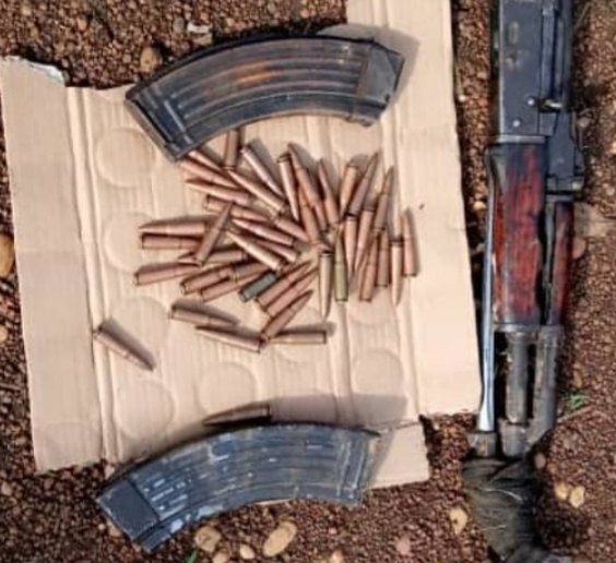Troops arrest armed bandits, recover arms and ammunition in Benue and Nasarawa states