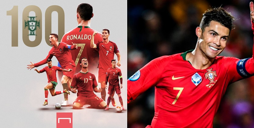 Cristiano Ronaldo Scores 100th International Goal For Portugal (Video)