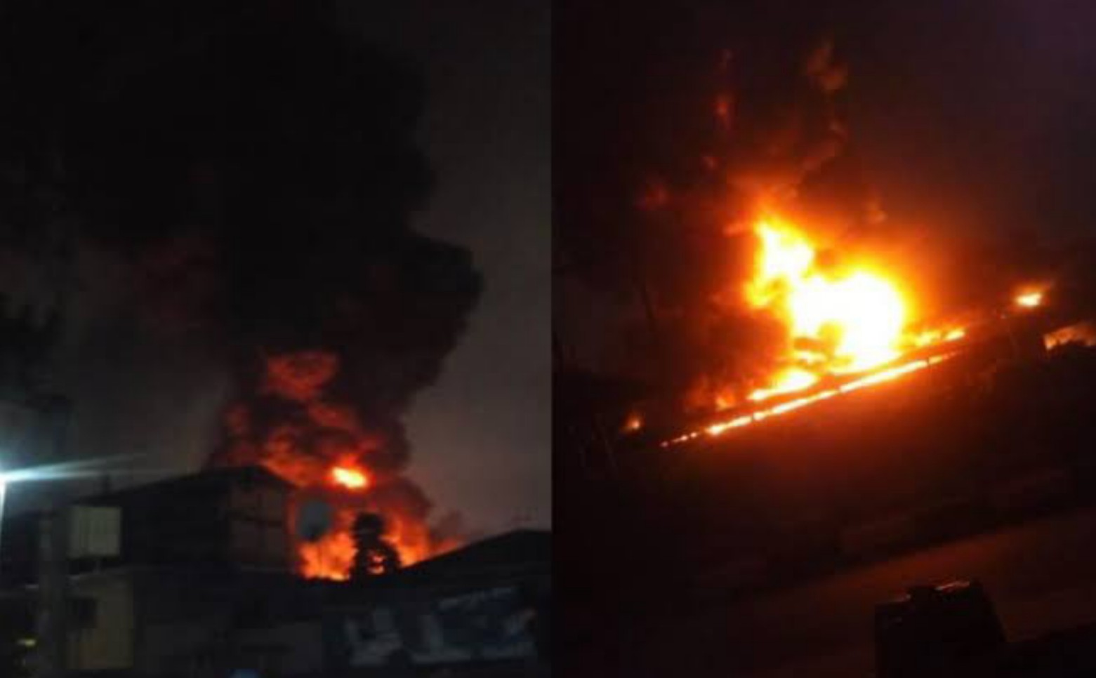 BREAKING: Fire razes Ondo INEC Headquarters, destroys over 5,000 card readers