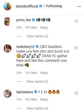 Davido finally resume social media activities, Fans react