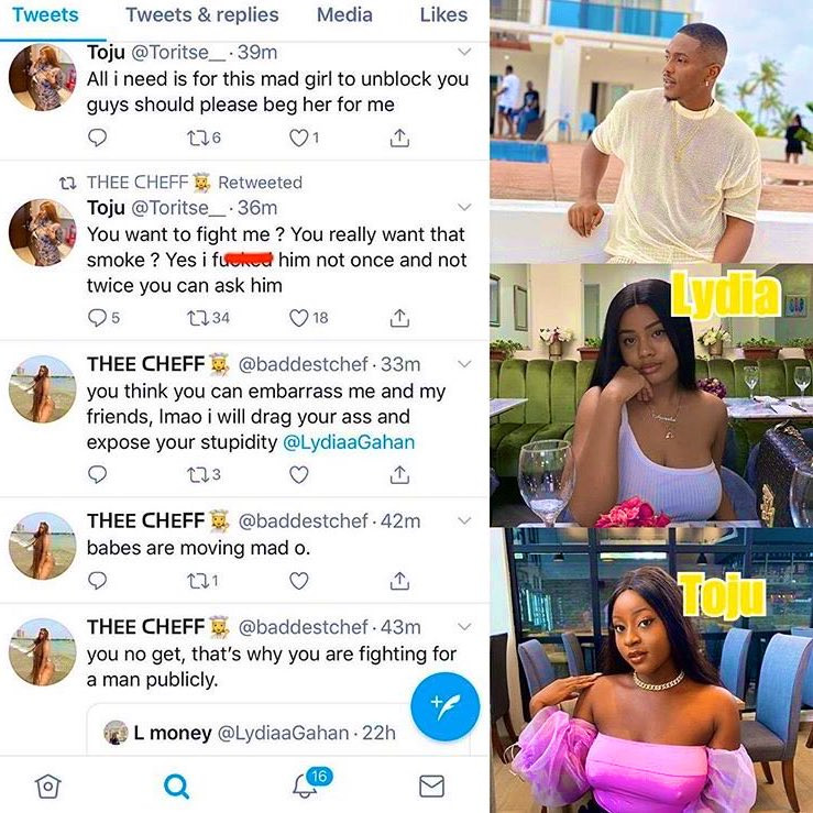 Nollywood actor, Timini in a huge mess as his girlfriend and side chick battle fiercely on social media