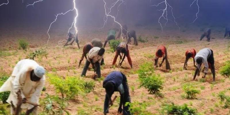 Thunderstorm kills 3 kinsmen, injures 2 others on their farm in Katsina