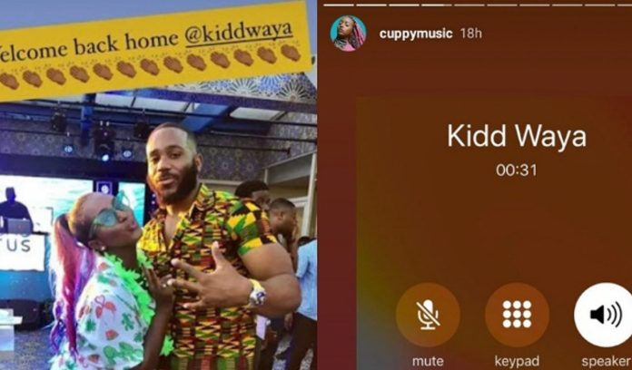 DJ Cuppy welcomes Kiddwaya back home after eviction