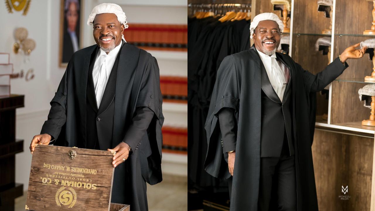 Nollywood actor, Kanayo O Kanayo finally called to bar as a professional Lawyer