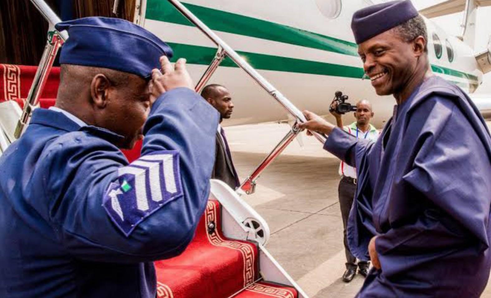Osinbajo departs Abuja for ECOWAS extraordinary summit in Accra