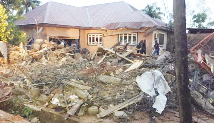 UPDATE: Collapsed storey building kills one, injures four in Delta