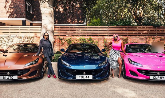 Davido, Don Jazzy and other Nigerian celebrities reacts to Otedola's Ferrari gift to his three daughters