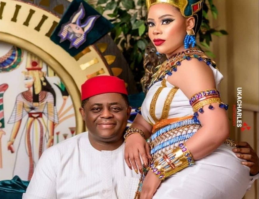 Femi Fani-Kayode and Wife Precious Chikwendu, have separated-Kemi Olunloyo alleges
