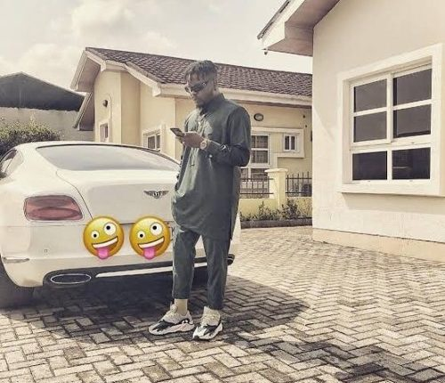 Olamide Reportedly Buys Lamborghini Aventador Worth N218 Million