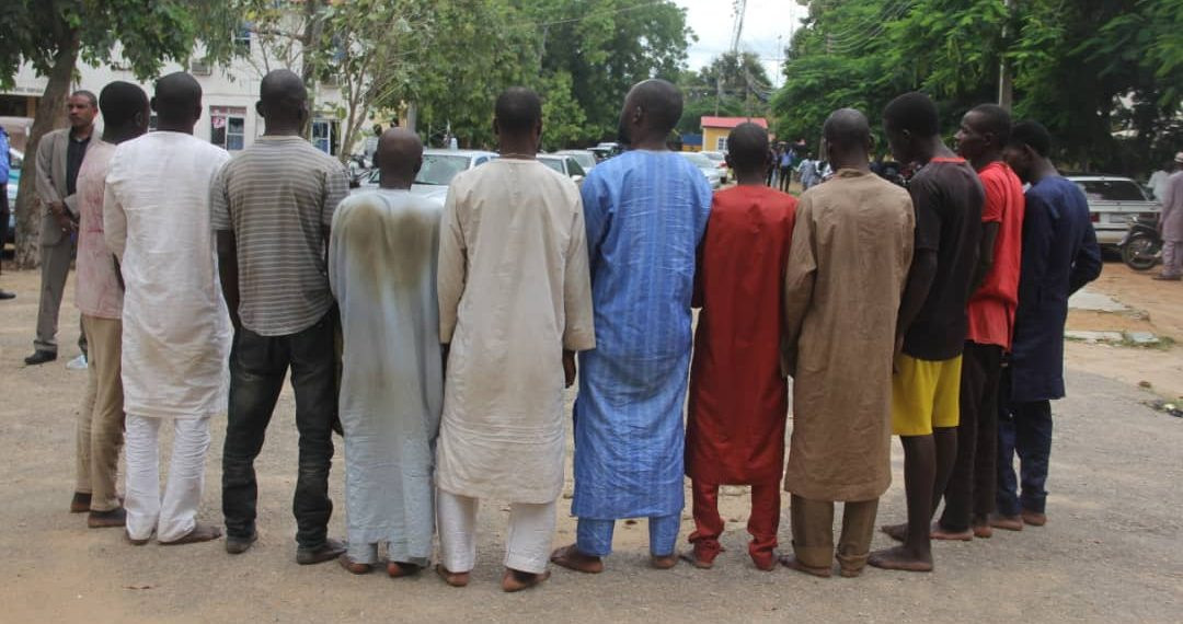 Police arrest gang who abducted 14-year-old girl as sex slave for a month in Bauchi